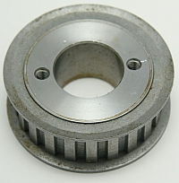Gearbelt Pulley, 18LG075, 18 Groove, Use G Bushing MAIN