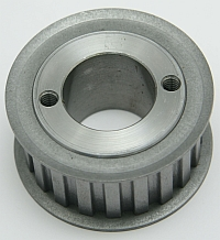 Gearbelt Pulley, 20LG100, 20 Groove, 2.357 OD, Use G Bushing MAIN