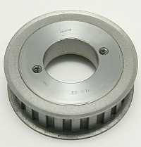 Gearbelt Pulley, 22 Groove, 3.447 O.D., 22HH100, Use H Bushing MAIN