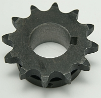 "Sprocket, 50B12, Modified Bored to 1-1/8"" With 1/4 Keyway and 1/4-20 SS at 0 and 90 Deg. MAIN"