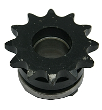 "Sprocket, 12 Tooth 50 Chain, Modified 1"" ID, 1/4 Key Way, Includes Modified Bushing MAIN"