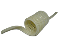 "Air Hose, 5 Bonded Coiled Hose, 10 FT,  Tube 1/4"", With 8"" Tails, Stacked Configuration MAIN"