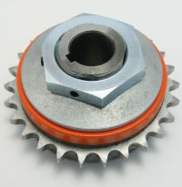 "Torque Limiter, 1"" Bore, With 40A26G Sprocket and Burned In. MAIN"