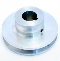 Model, DL-2, Arbor Pulley (Ver 1991) Cutter Head Assy 20-24 Gauge Doors.(3.900/2.000 OD X 1ID). MAIN