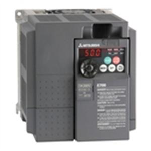 Drive, FRE-E740-060-NA, 3HP, MitsubishiFR-E700 Series Variable Frequency Drive, 480VAC 3Ph In/Out LARGE