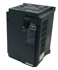 Drive, FR-E720-330-NA, 10HP Mitsubishi FR-E700 Series Variable Frequency Drive, 240VAC 3Ph In/Out, MAIN