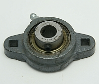 "Bearing, FB 160 X 1/2"", 2 Square Hole Mount, Setscrew Locking Relube MAIN"