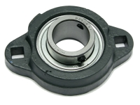 "Bearing, FB 160 X 1"", 2 Hole Mount, Setscrew Locking Relube MAIN"
