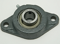 "Bearing, FB 260 X 3/4"", 2 Hole Mount, Setscrew Locking Relube. MAIN"