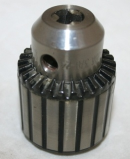 CHUCK 3/8 NF THREAD 1/16-3/8 CAPACITY.