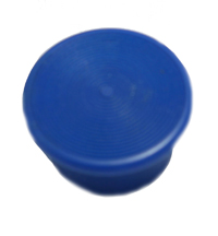 Mushroom Knob, Blue, Square D, 1-3/8 in. Screw-on for KR24 and SKR24 MAIN