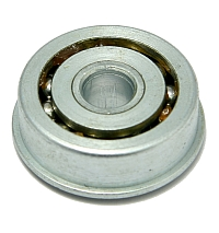 "Flanged Ball Bearing, F-350-11, 1-3/8"" OD, 3/8"" Bore MAIN"