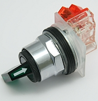 Selector Switch, Non-Illuminated, 2 Position, Green Gloved Hand Knob,Type: K, Size: 30mm, Square D MAIN