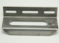 Photo Eye Bracket, 18mm, Horizontal Adjustment, Stainless Steel, Formed For Width Adjust MAIN