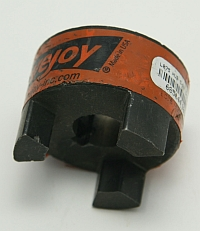 "LoveJoy, L075 Coupling Body, 5/8"" Bore, Part of 3 Piece Flexible Coupling With 5/32"" Keyway MAIN"
