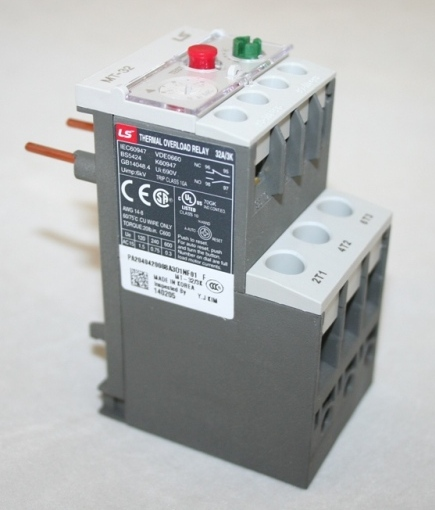 Thermal Overload Relay, 1.6A-2.5A, Metasol MC-22b MT-32/3K-2.1S THUMBNAIL