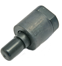 Rod Alignment Coupler, 3/4-10 Threads, 2° of Misalignment, Steel MAIN