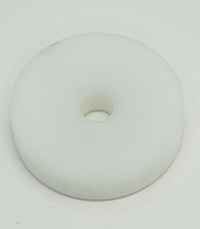 "Pad,Delrin,2"" Dia,1/2"" Thick,7/16 NF Thread MAIN"