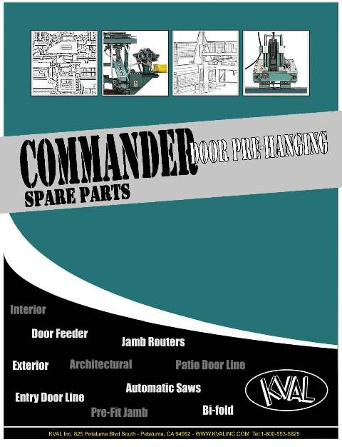 Commander Operator's Copy-Spare Parts Catalog THUMBNAIL
