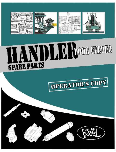 Handler Operator's Copy-Spare Parts Catalog THUMBNAIL