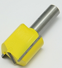 "Router Bit, Carbide Tipped, 1-1/4"" Dia, 1/2"" Shank, 2-7/8"" OAL, 1-1/4 CL, 5/16-24 Tap Shank MAIN"