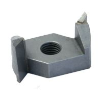 "Router Bit, Spin On, 1-1/4"" Dia, 5/16-24 Thread MAIN"