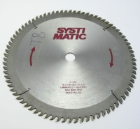 "Saw Blade, 10"" X 80 Tooth X 3/4 Arbor Trim Saw Blade 6 Deg Negative Hook #1245 MAIN"