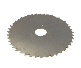 Spline Saw Blade, 2-1/2 DIA, 7/16-ID, 44 Tooth