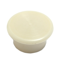Mushroom Button, White, For Illuminated Push Button MAIN