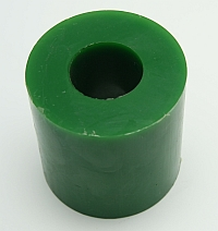 "Roller Green Polytube,3"" O.D. X 1-3/8"" I.D. X 3"" Wide,60 Duro MAIN"
