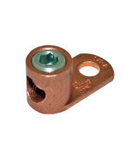 Copper Connector, L125, Type L -Copper Single  Conductor One Hole Mount for Conductor Range 8 Sol.-1 MAIN