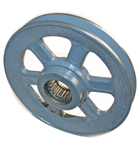 Pulley, BROBK65, Modified Bore to 1.313 +.000/-.001 For BH1612 Needle Bearing MAIN
