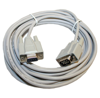 Cable, 25 Ft., DB9, M/F 9C, Serial Straight Thru Extension Cable MAIN