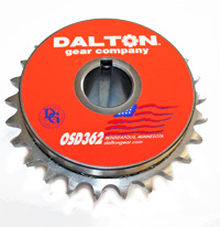 "Torque Limiter,1"" Bore with BRO40T303 Sprocket and Burned In,DALTON OSD362 MAIN"