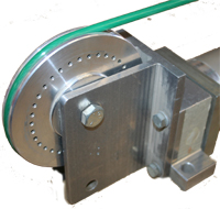 Cylinder, Modified Cable Greenco Cable-Trol, CD 3226, Modified End Pulley and Housing to accommodate MAIN