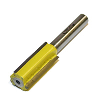 "Router Bit, Carbide Tipped, 1/2"" Dia, 1/4"" Shank, 2-1/2"" OAL, 1/2"" CL, 3 Flute MAIN"