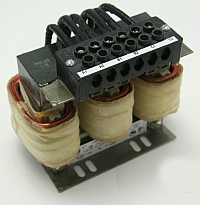 In Line Reactor, 55Amps, .25 MH, 3 Phase, 3% Impedance, 20 HP rating, Hammond RM0055P25 MAIN