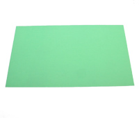 "Shim Stock, .003 Thick, Green, Plastic, 5"" X 20"" Sheet MAIN"