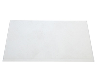 "Shim Stock, .050 Thick, Clear, Plastic, 5"" X 20"" Sheet MAIN"