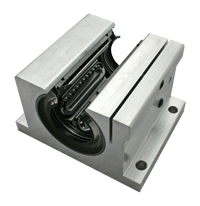 "Bearing, SPB-32-OPN OPEN PB, 2"" Super Linear Bearing Block With Steel Bearing MAIN"