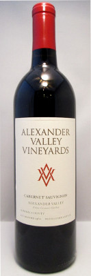Alexander Valley Vineyards Cabernet Sauvignon 2015