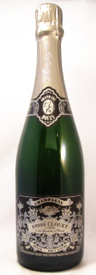 "Andre Clouet Champagne Brut Nature ""Silver"""