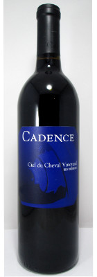 Cadence Red Wine Ciel du Cheval Vineyard 2014