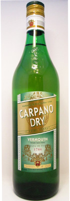 Carpano Dry Vermouth - 1000 ml THUMBNAIL