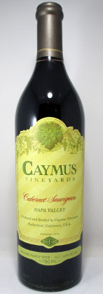 Caymus Vineyards Cabernet Sauvignon 2018 THUMBNAIL