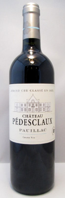Chateau Pedesclaux Paulliac 2012
