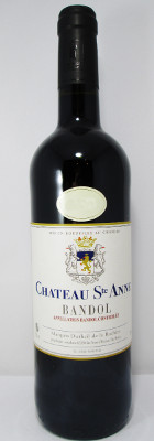 Chateau Sainte Anne Bandol Rouge 2014