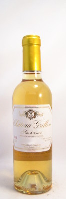 Chateau Grillon Sauternes 2015 - 375 ml THUMBNAIL