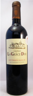 Chateau La Grace Dieu Saint-Emilion Grand Cru 2010
