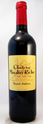 Chateau Moulin Riche Saint Julien 2010